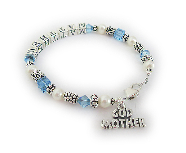 MATTHEW God Mother Bracelet with God Mother Charm