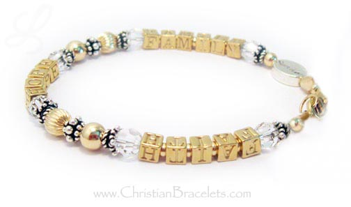 Jesus Loves Me 1 string Bracelet