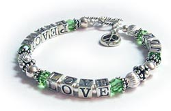 Peace Love Joy Bracelet image