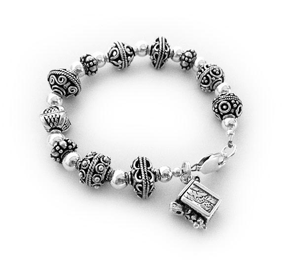 Blessing Box Bracelet with Prayer Box Charm
