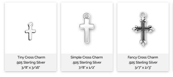 Sterling Silver Cross Options
