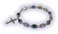 Colorful Rosary Bracele 1