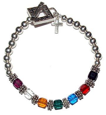 6mm Square Salvation Bracelet