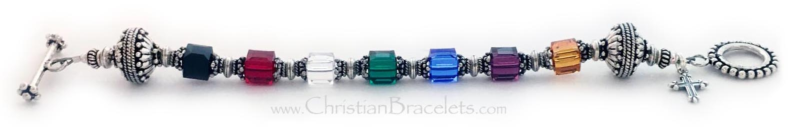 Beautiful Real Silver  Salvation Bracelets