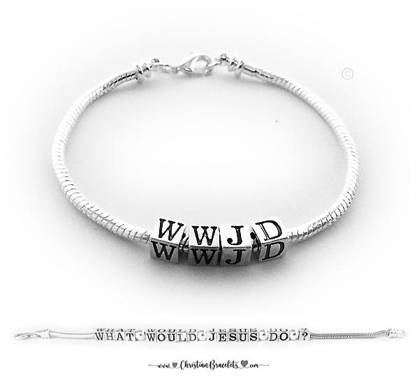 WWJD Pandora Bracelet