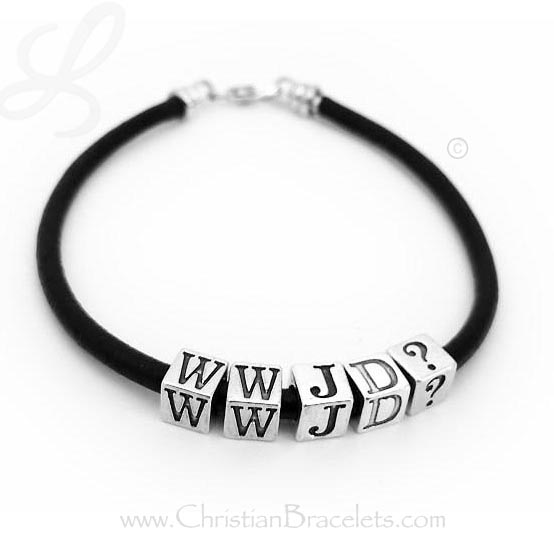If you just want the Initials JTTW - it will look similar to this WWJD Bracelet. To order one like this one enter JTTW and pick 4 letters.